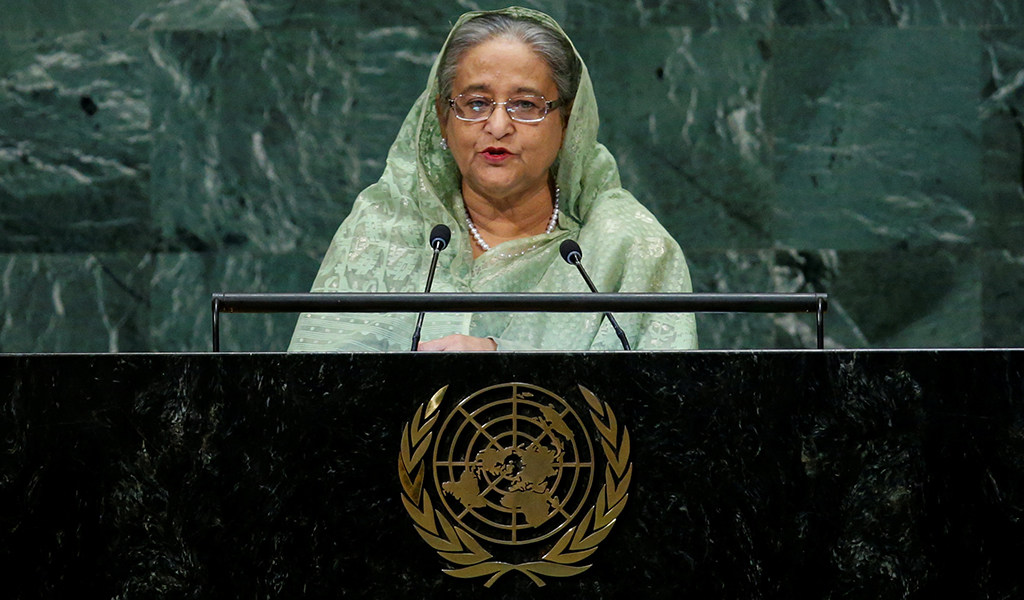 Sheikh Hasina in United Nation - Bangladesh 2019